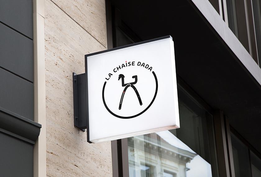 Logo chaise dada